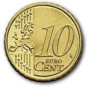 10 Cent-Münze